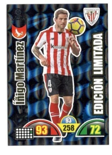 IÑIGO MARTINEZ (Athletic) edición  LIMITADA Adrenalyn 2017 2018