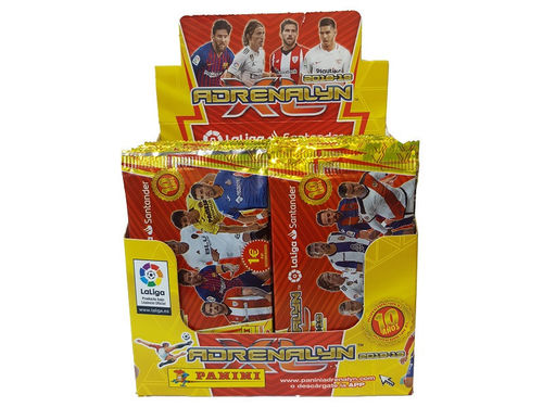 1 Caja con 50 sobres (300 cards) ADRENALYN XL 2018/19   panini 2019