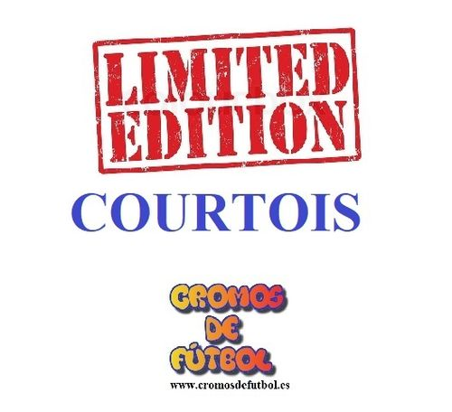 COURTOIS (Real Madrid) Limitada ADRENALYN XL 2018/19   panini 2019