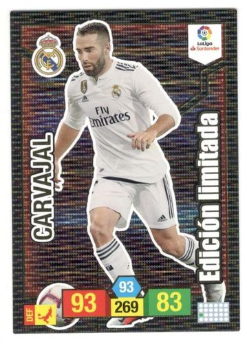 CARVAJAL (Real Madrid) Limitada ADRENALYN XL 2018/19 panini 2019
