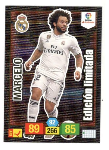 MARCELO (Real Madrid) Limitada ADRENALYN XL 2018/19 panini 2019