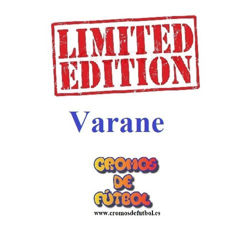 VARANE (Real Madrid) Limitada ADRENALYN XL 2018/19 panini 2019