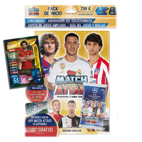 UEFA Champions League Match Attax - Pack de Inicio