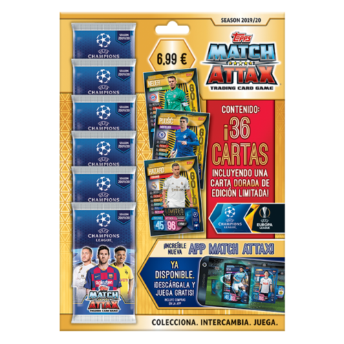 UEFA Champions League Match Attax - Multi Pack