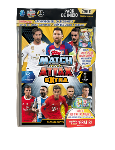UEFA Champions League Match Attax EXTRA - Pack de Inicio