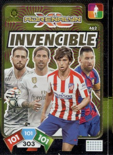 CARD INVENCIBLE   BALÓN DE ORO ADRENALYN XL 2019 2020