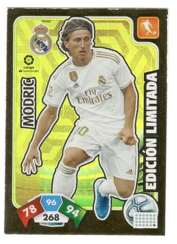 Modric (Real Madrid)  Megapack de Lanzamiento ADRENALYN XL 2019 2020