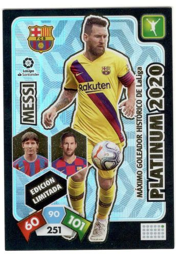 Messi Platinum 2020 (FC Barcelona) Compact Box  ADRENALYN XL 2019 2020