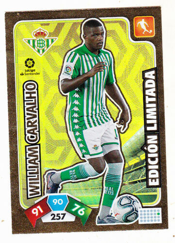 William Carvalho (Real Betis) Revista Jugón 157 ADRENALYN XL 2019 2020
