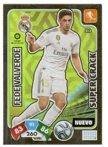 Fede Valverde (Real Madrid) Nuevo SUPER CRACK ADRENALYN XL 2019 2020