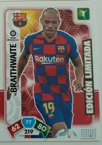 BRAITHWAITE  F C Barcelona Revista Jugón 159 ADRENALYN XL 2019 2020