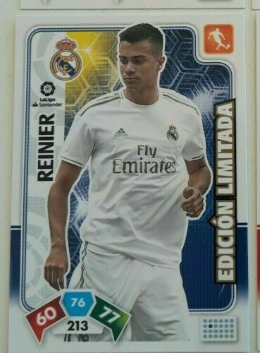 REINIER  (Real Madrid)  Revista Jugón 159 ADRENALYN XL 2019 2020